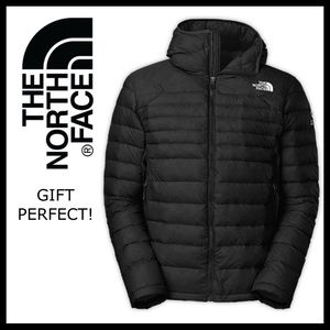 THE NORTH FACE DOWN INSULATED HOODIE PUFFER JACKET